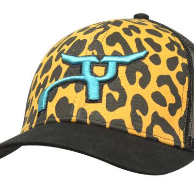 RS Leopard Print Snapback Cap
