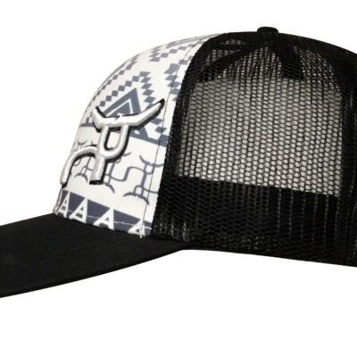 RS Aztec Black & White Snapback