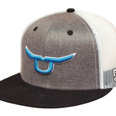RS Classic Trucker Snapback With Teal Steer