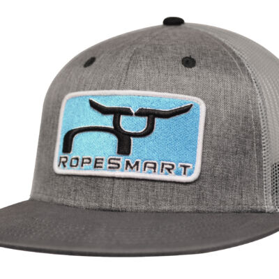 RS Classic Trucker with Teal Steer Patch