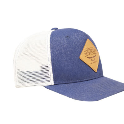 Ropesmart Leather Patch Snapback