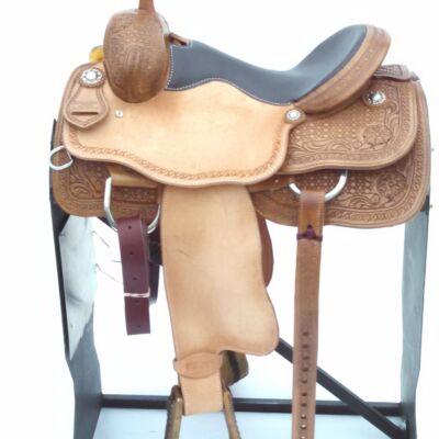 RopeSmart Saddle 15″, Upgraded Seat