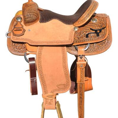 Pro RopeSmart Saddle 15″ Seat Light Brown