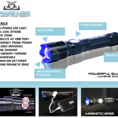HAWG LED – Flash Light