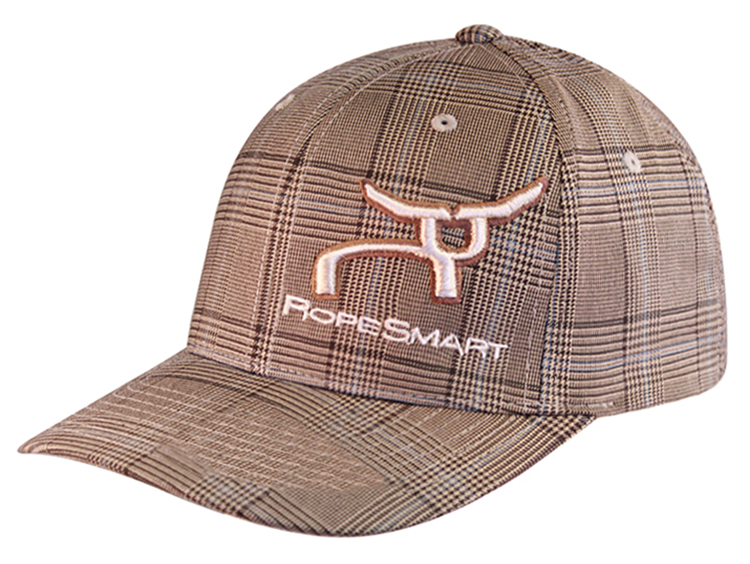 RS Classic Brown Glen Plaid Fitted Cap