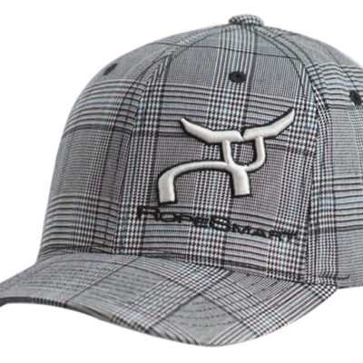 Rs Classic Gray Glen Plaid Fitted Cap