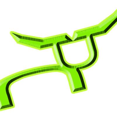 RS Hard Steer 3″ Decal