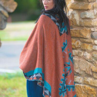 Varianna Sandstone Knitted Shawl