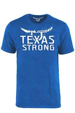 "RS ""Texas Strong"" Royal Blue T-Shirt"
