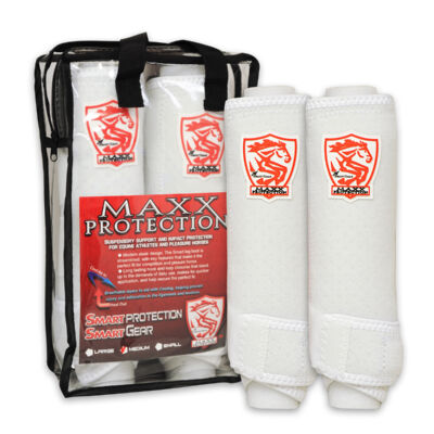 MaxX Protection White Sports Boots