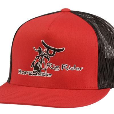 Rs Rig Rider Red Trucker Snapback Cap