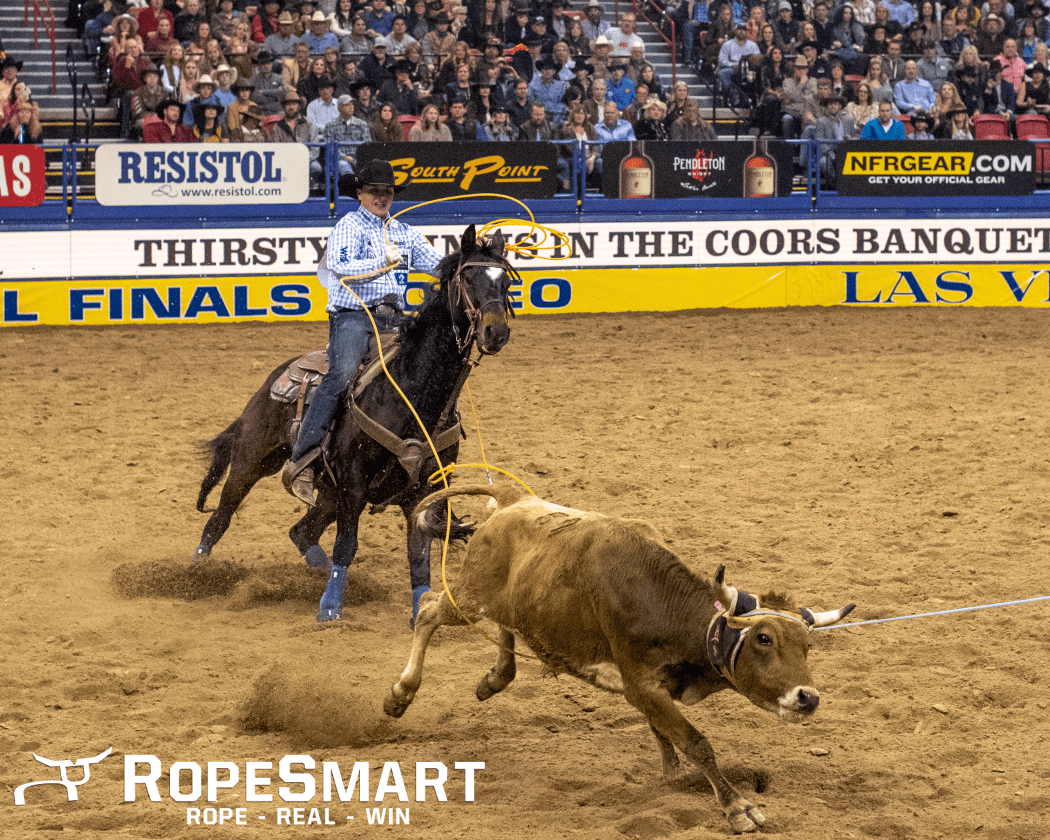 Wesley Thorp 2019 NFR Round 3 Team Roping