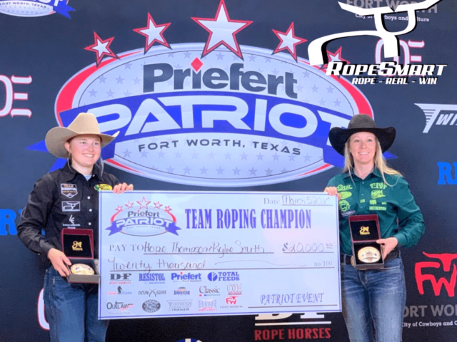2020 Women's Roping Patriot